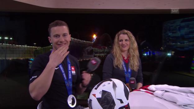 Video «Kummer und Galmarini im Interview» abspielen