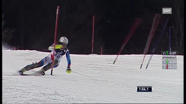 Slalom Zagreb: 2. Lauf Holdener