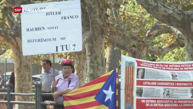 Video «Unabhängigkeit Katalonien» abspielen