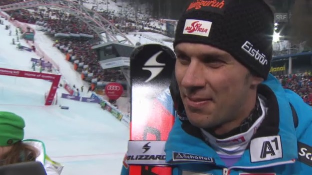 Video «WM-Slalom: Interview Matt» abspielen