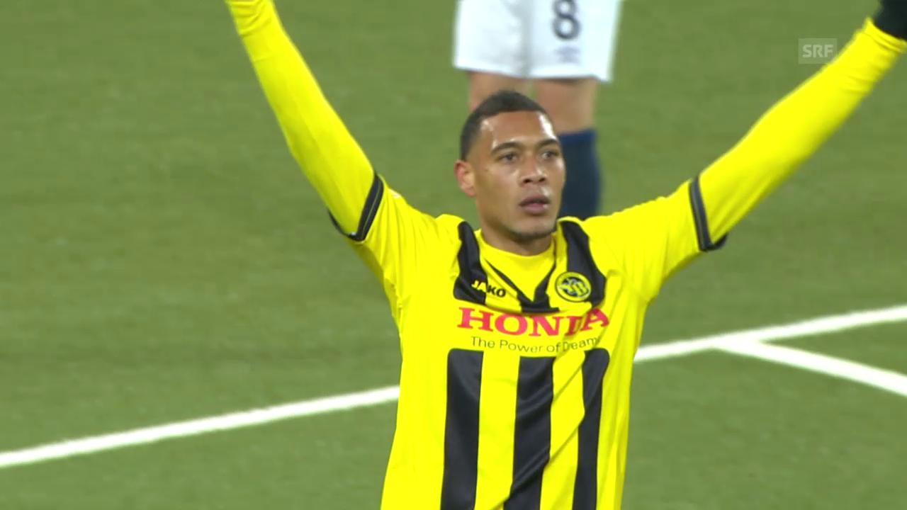 Fussball: Europa League, YB - Everton Tor Hoarau