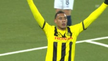 Video «Fussball: Europa League, YB - Everton Tor Hoarau» abspielen