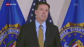 Video «FOKUS: Was hinter der Entlassung des FBI-Chefs steckt» abspielen