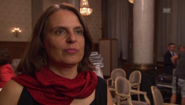 Video «Elisabeth Ackermann möchte Regierungsratspräsidentin werden» abspielen