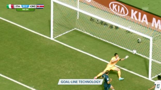 Video «Bryan Ruiz' 1:0 gegen Italien» abspielen