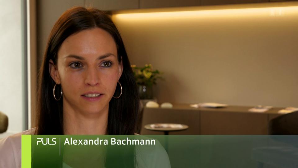 Alexandra Bachmann: «Es hat mich beim Sport behindert, war störend.»