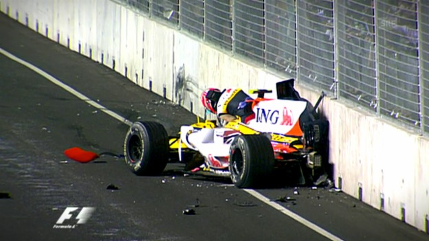 Video «Das «Crashgate» um Nelson Piquet jr.» abspielen