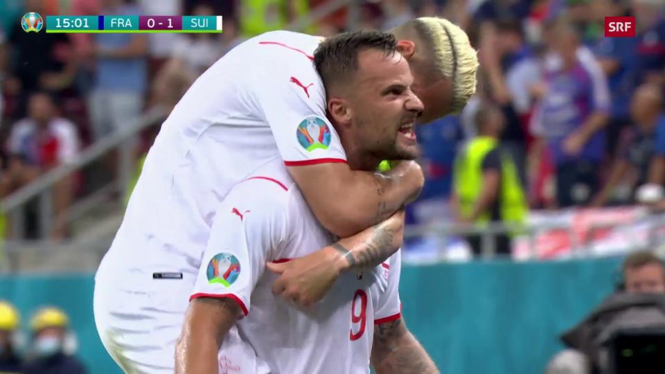 Seferovic fa speranza a la Svizra