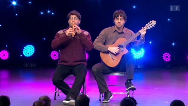 Video ««Divertimento» als Jazzmusiker» abspielen