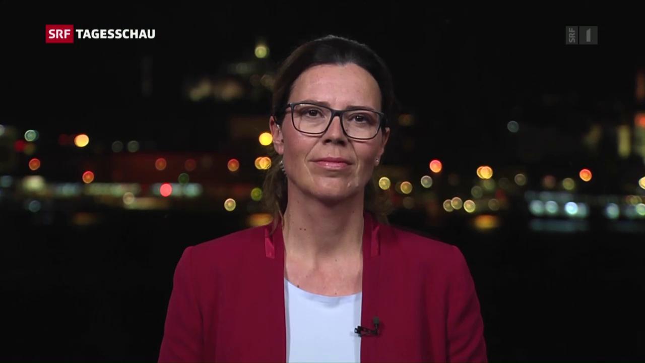 Einschätzung von SRF-Korrespondentin Ruth Bossart