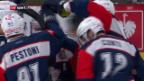 Video «ZSC Lions siegen auch im 4. CHL-Spiel» abspielen