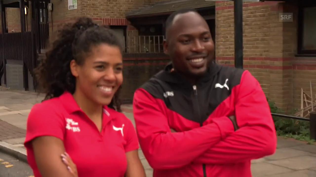 Die Schweizer Leichtathleten vor der WM in London