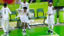 Video «Durant zaubert – Jordan tanzt» abspielen