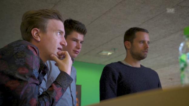 Video ««HalloSRF!»-Publikumsmitarbeiter Philipp Stocker bei Radio SRF 3» abspielen