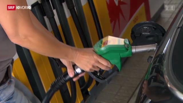 Benzin soll 15 Rappen aufschlagen