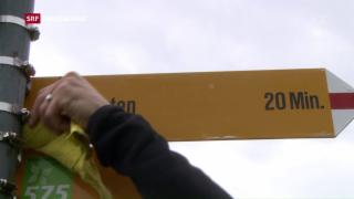 Video «Frühlingsputz auf Schweizer Wanderwegen» abspielen