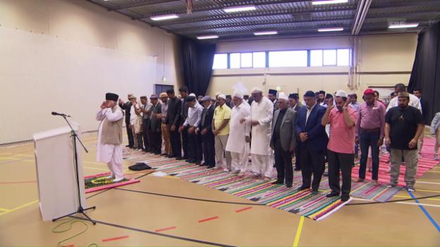 Video «Zum islamischen Opferfest» abspielen