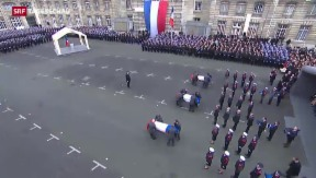 Video «Tag des Abschieds in Paris» abspielen