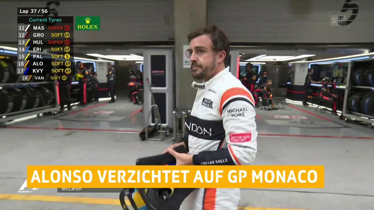 Alonso: Indianapolis statt Monaco