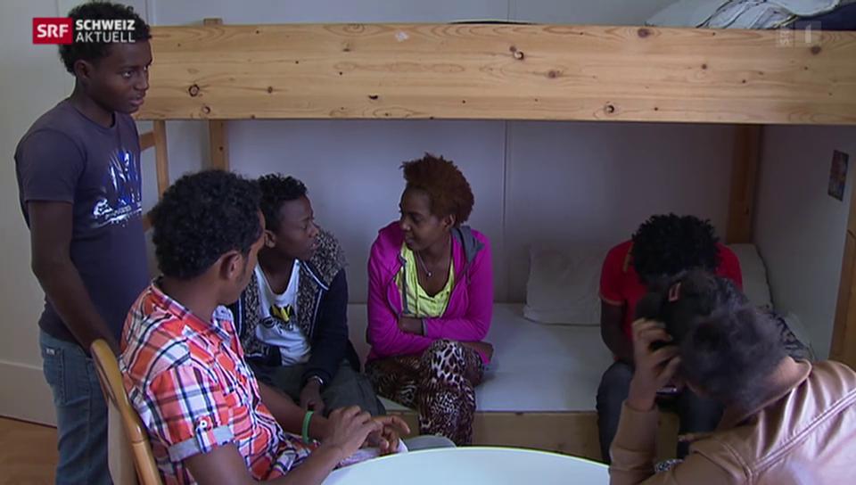 «Eritreer - unsere neuen Einwohner» - Im Durchgangsheim
