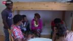 Video ««Eritreer - unsere neuen Einwohner» - Im Durchgangsheim» abspielen