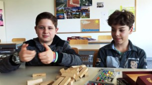 Video «Nicolas (11) und Filippo (11) aus Riva San Vitale» abspielen