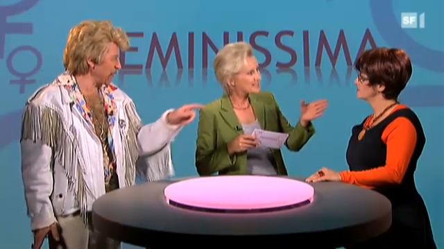 Harry bei «Feminissima»