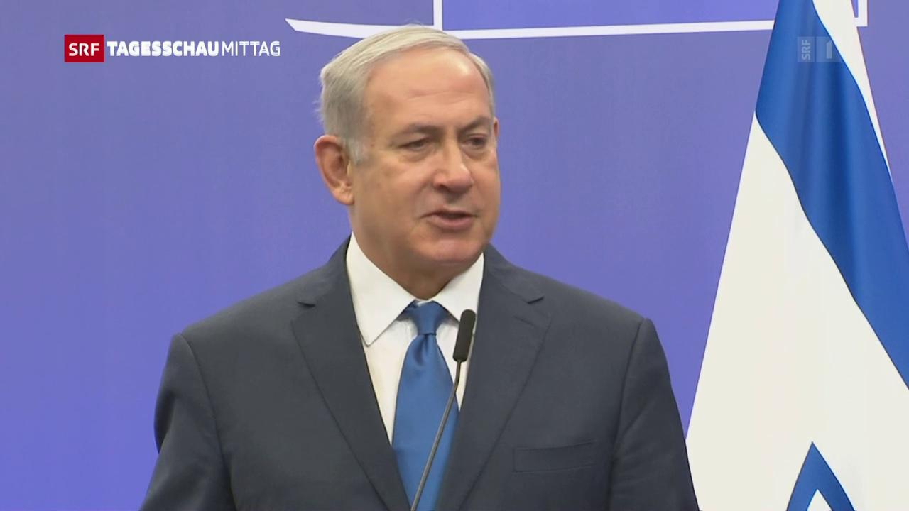 Netanjahu in Brüssel