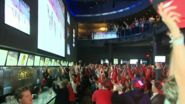 Video «Grosser Jubel in Kanada (EVS, 20.2.14)» abspielen