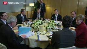 Video « Wogen geglättet am EU-Gipfel» abspielen