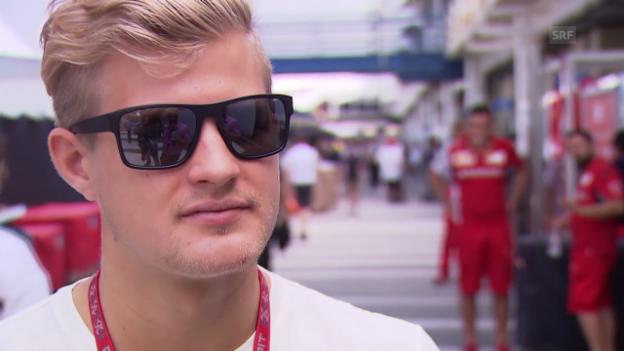 Video «Formel 1: Marcus Ericsson im Interview» abspielen