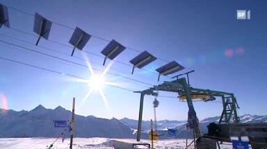 Erster Solar-Skilift im Bündner Safiental