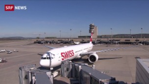 Video «Passagiere müssen immer länger warten» abspielen