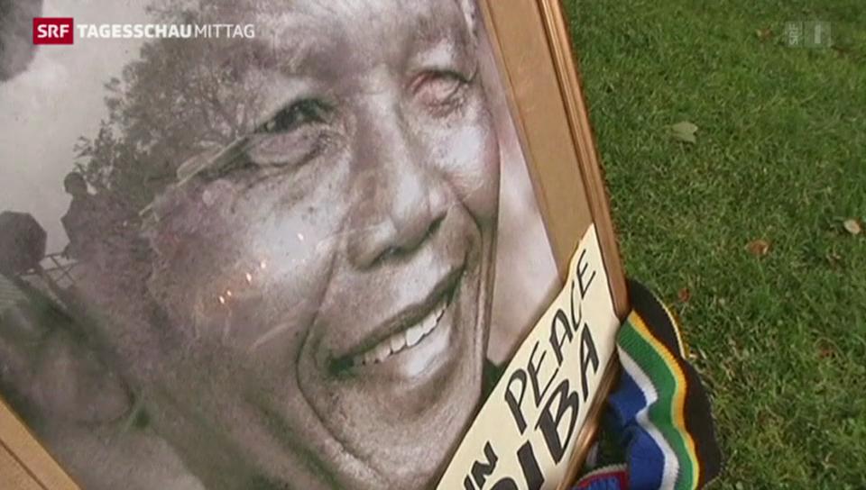 Südafrika trauert um Nelson Mandela