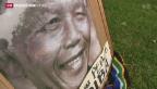 Video «Südafrika trauert um Nelson Mandela» abspielen