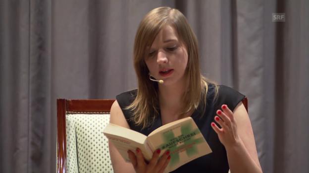 Video «Anne Witzorek liest aus ihrem Buch «Weil ein #Aufschrei nicht reicht»» abspielen