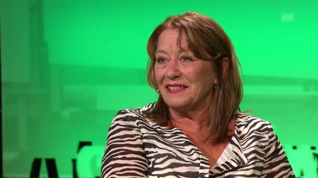 Video «Claudia Knapp bei «Aeschbacher»» abspielen