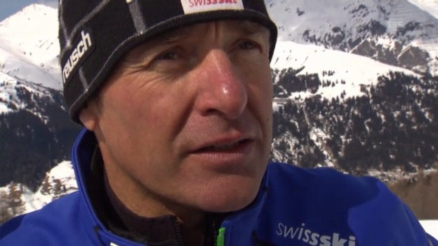 Video «Ski: Interview mit Huber» abspielen