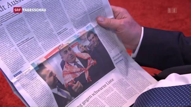 Video «Forderung nach Verbot für öffentliche Wahlkampfauftritte» abspielen
