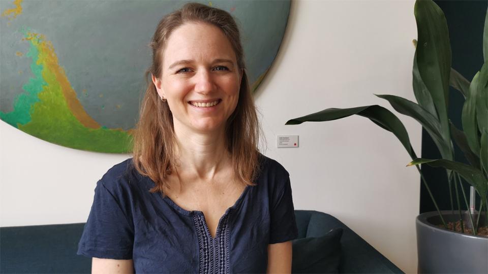Sandra Zwald im Porträt von Catherine Thommen