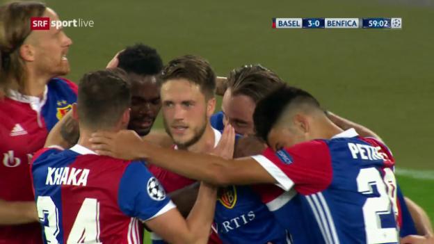 Laschar ir video «1,2,3,4,5 – alle Basel-Tore im Video»