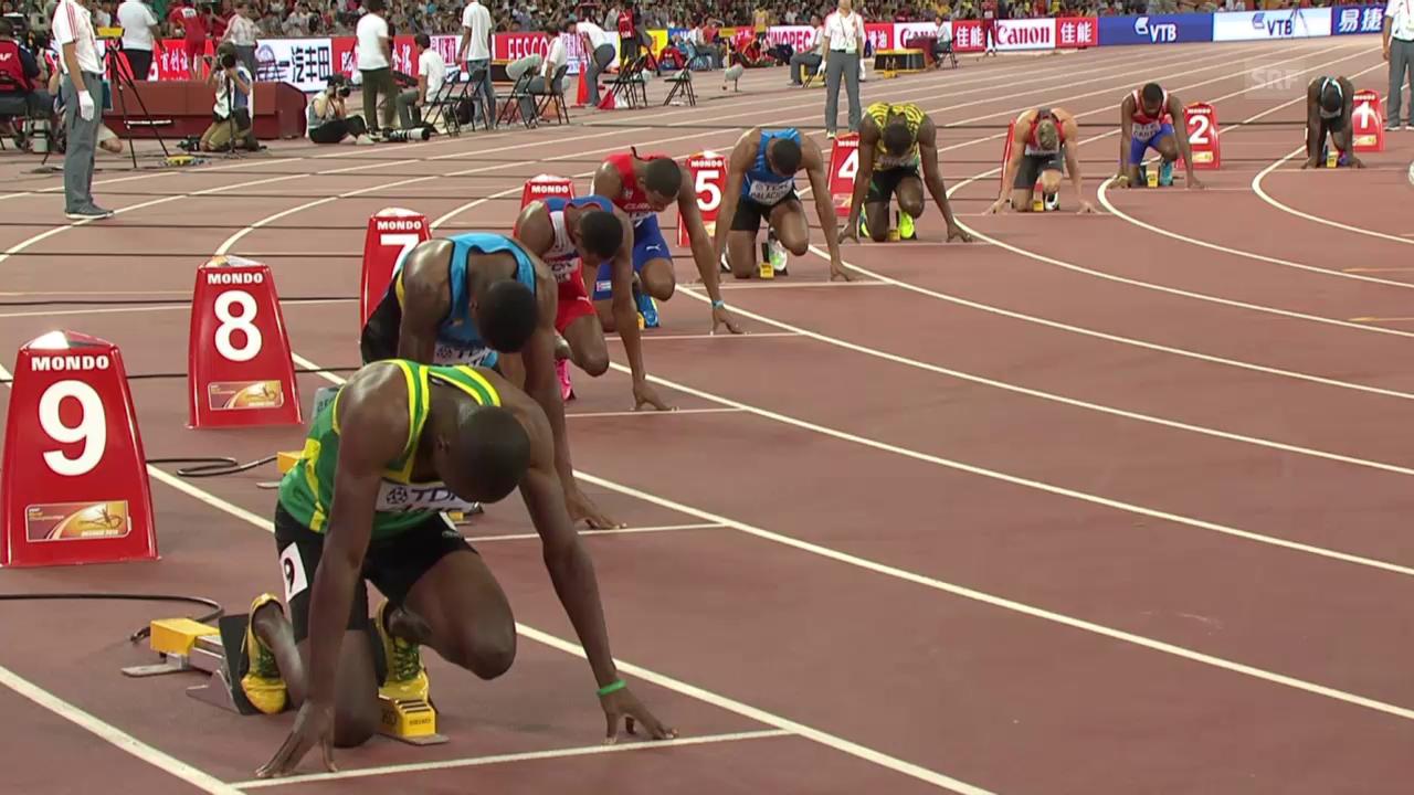 LA: Vorlauf 200m, Usain Bolt