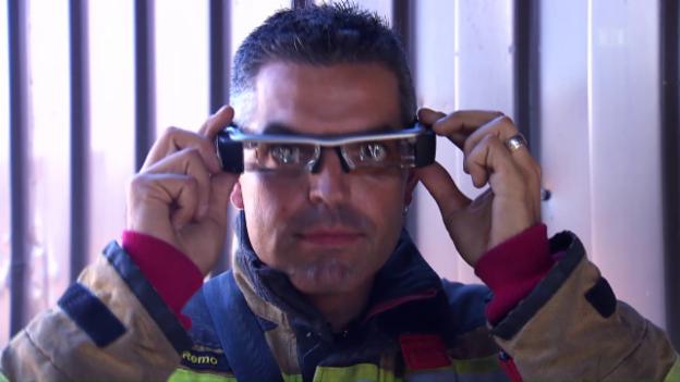 Video «Forschung für die Feuerwehr» abspielen