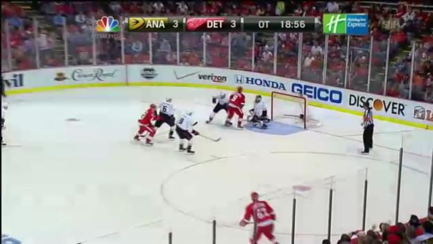 Video «Highlights Detroit - Anaheim» abspielen