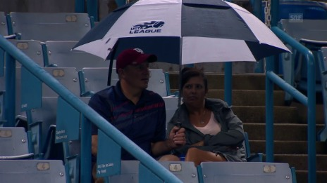 Link öffnet eine Lightbox. Video Viel Regen und kaum Tennis in Cincinnati abspielen