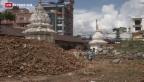 Video «Wiederaufbau der Tempel in Nepal» abspielen