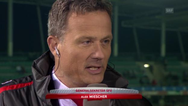Video «Fussball: EURO-Quali, Gespräch Schweiz vs. Albanien» abspielen