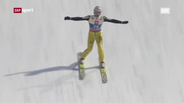 Video «Skispringen in Bischofshofen» abspielen