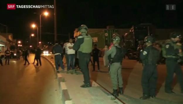 Video «Entführte Jugendliche: Israel nimmt Palästinenser fest» abspielen