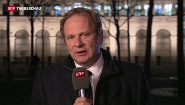 Video «SRF-Wirtschaftsredaktor Kolbe: «Das wirkt wie eine Flucht nach vorn.»» abspielen